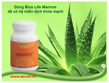 Thực phẩm chức năng Bios Life Mannos Unicity