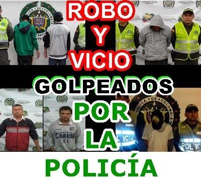 FUSAGASUGÁ: ATRACO, ROBO Y VICIO: GOLPEADOS POR LA POLICÍA
