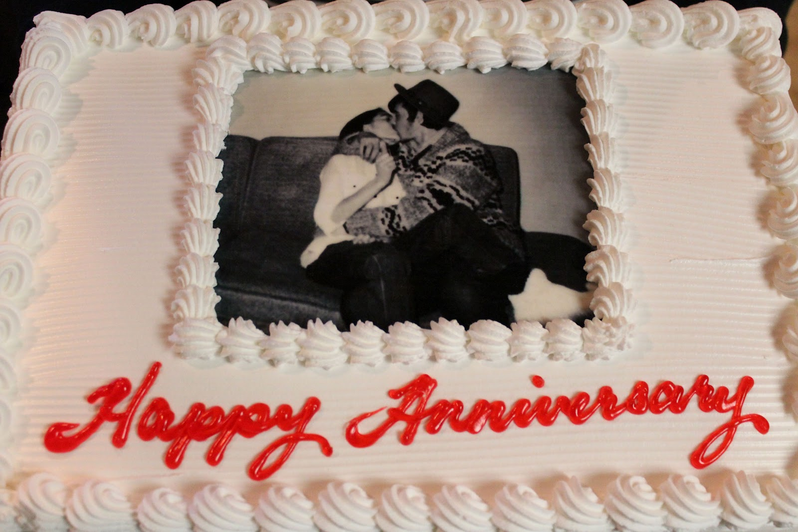 Mum And Dad's 45th Wedding Anniversary Cake « Neat N Sweet
