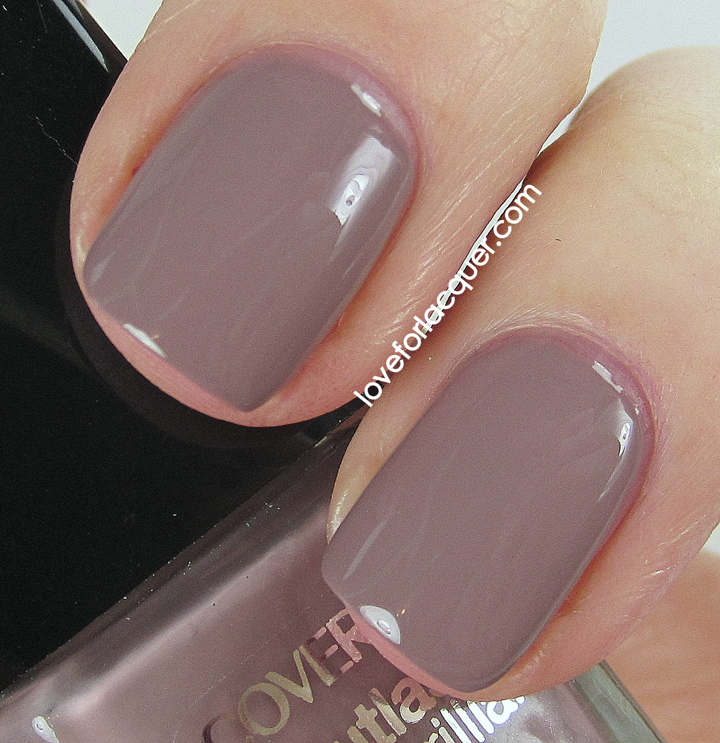 Purple Taupe Nail Polish: CoverGirl Outlast Stay Brilliant Nail Polish Swatches