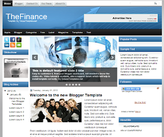 TheFinance+Blogger+Template