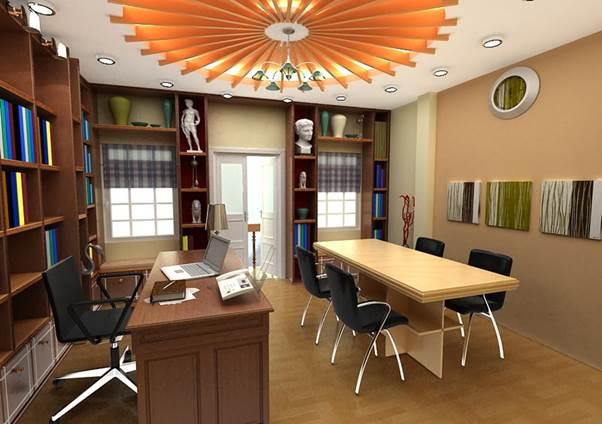 Thiết kế nội thất phòng giám đốc kiêm phòng họp 05