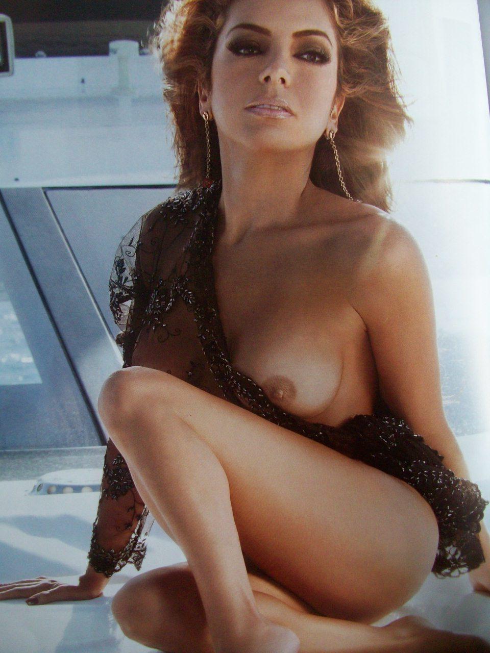 Pilar Montenegro Playboy Septiembre
