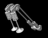 Komponen Pusrod dan pengeraknya