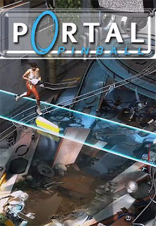 Screenshots of the Portal Pinball for Android tablet, phone.