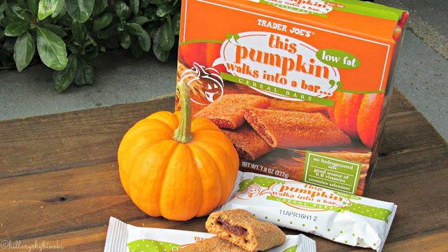 Trader Joe's Pumpkin Cereal Bars