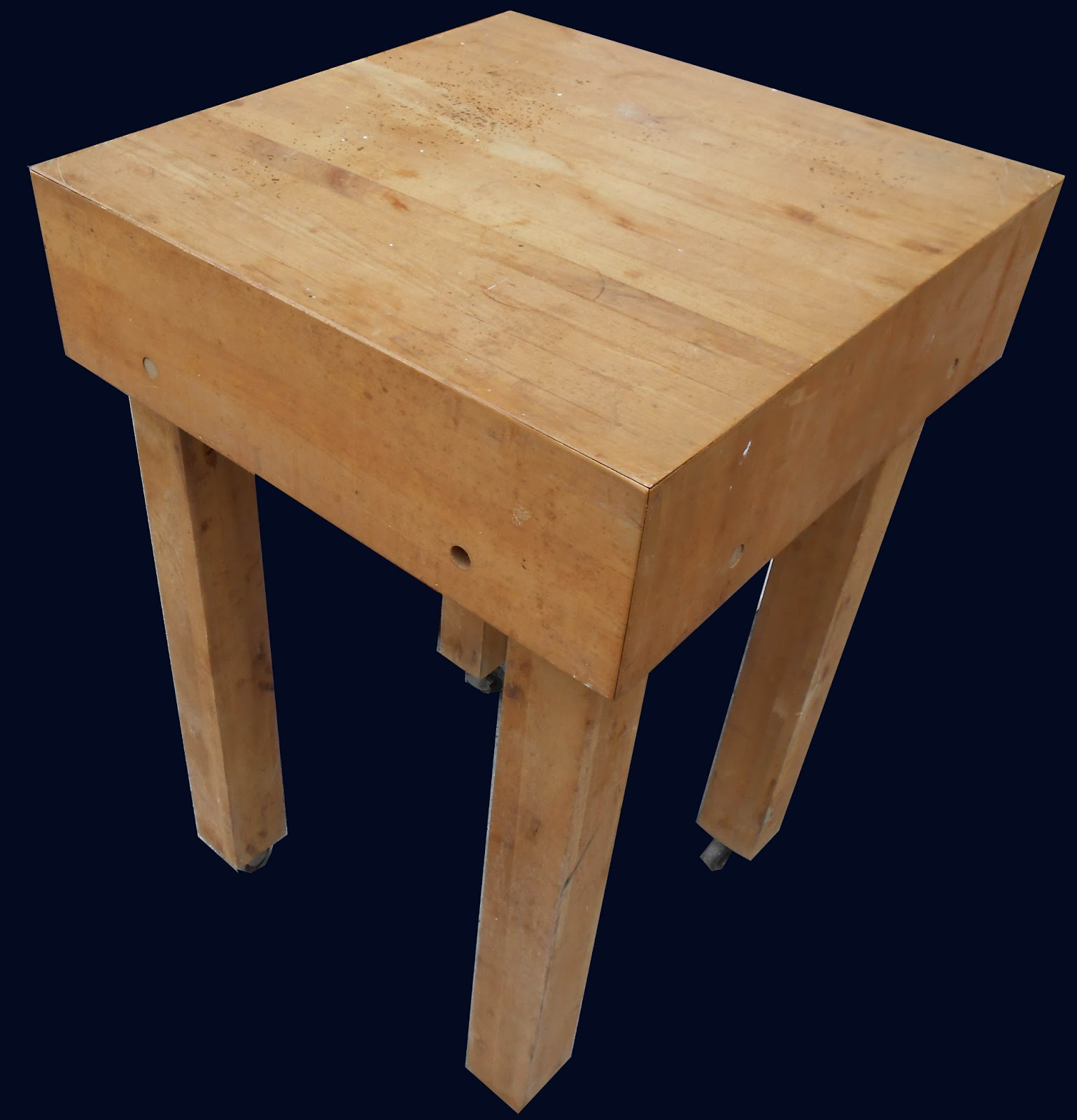 uhuru furniture collectibles small butcher block sold