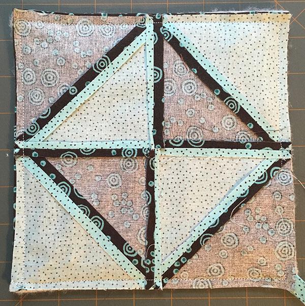 Half-Square Triangle Potholder Tutorial