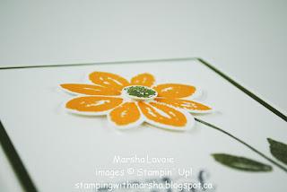 garden in bloom stampin up, petal potpourri