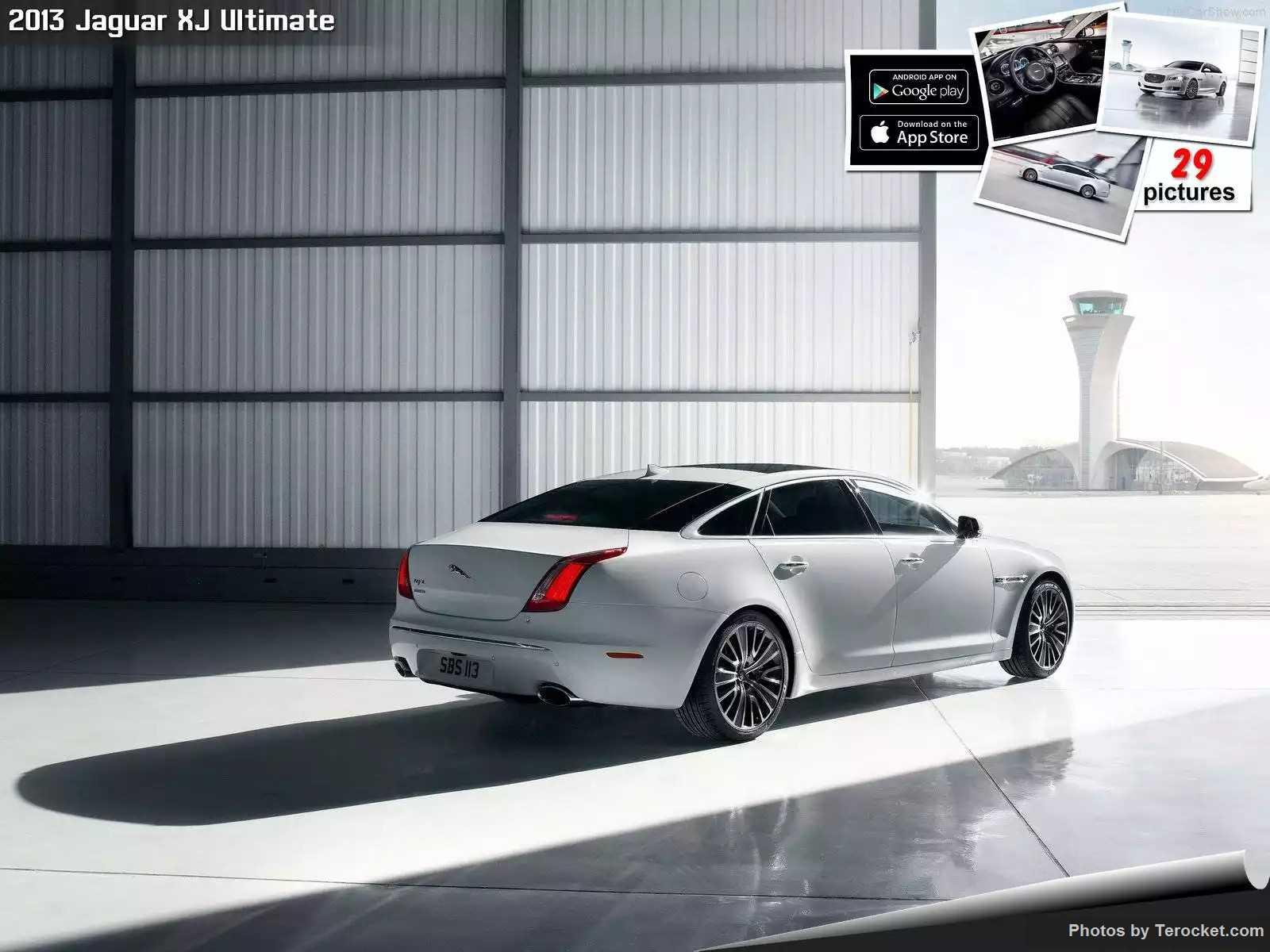 Hình ảnh xe ô tô Jaguar XJ Ultimate 2013 & nội ngoại thất