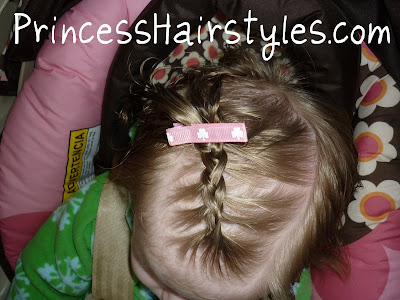 baby french braid