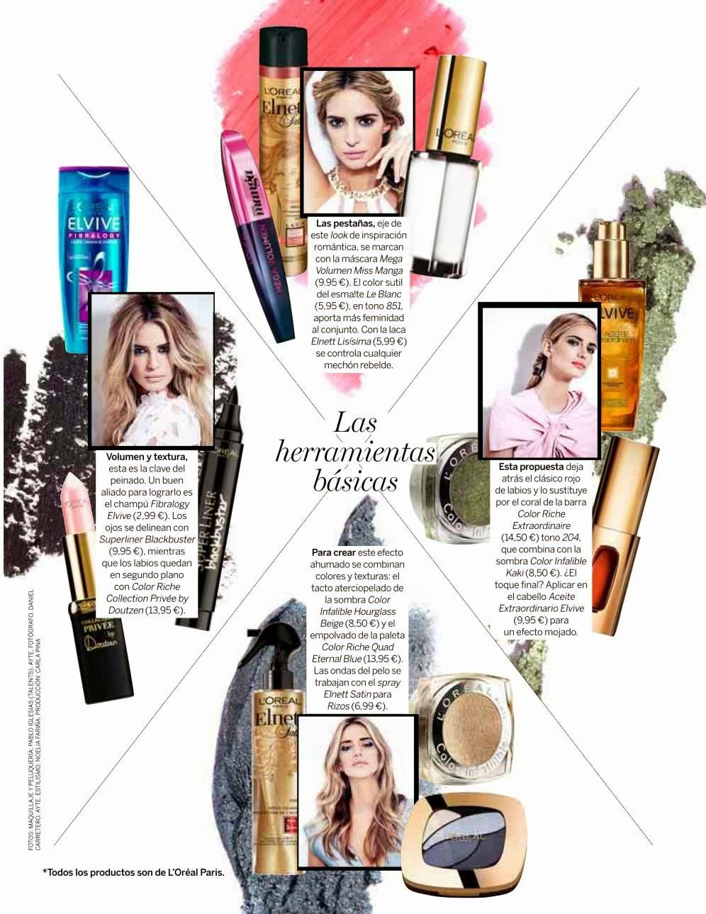 Teresa Baca HQ Pictures Yo Dona Spain Magazine Photoshoot February 2014
