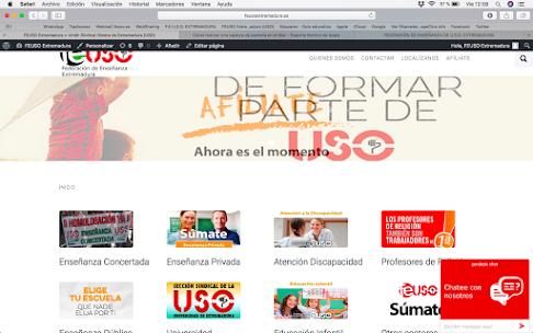 NUEVA WEB DE FEUSO EXTREMADURA