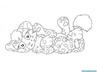 Menggambar Bayi Jaguar