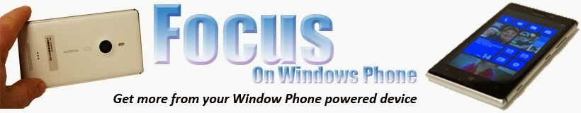 Focus On Windows Phone