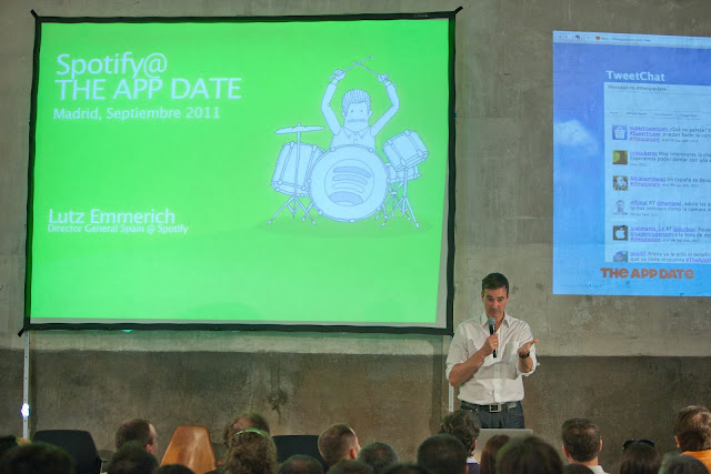 presentattion at the App Date Madrid