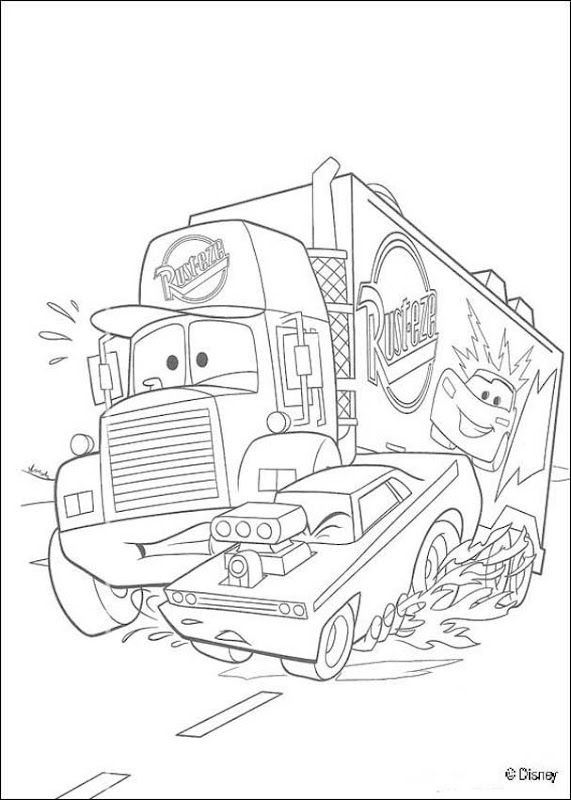Free Disney cars 2 Coloring Pages Books title=