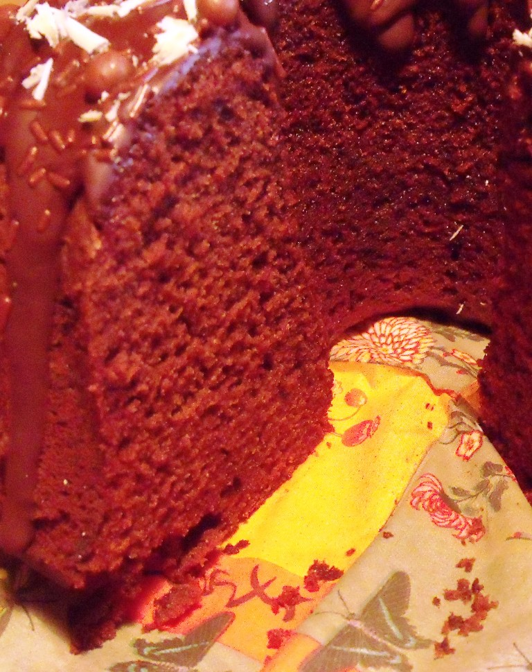 Simple Chocolate Loaf Cake