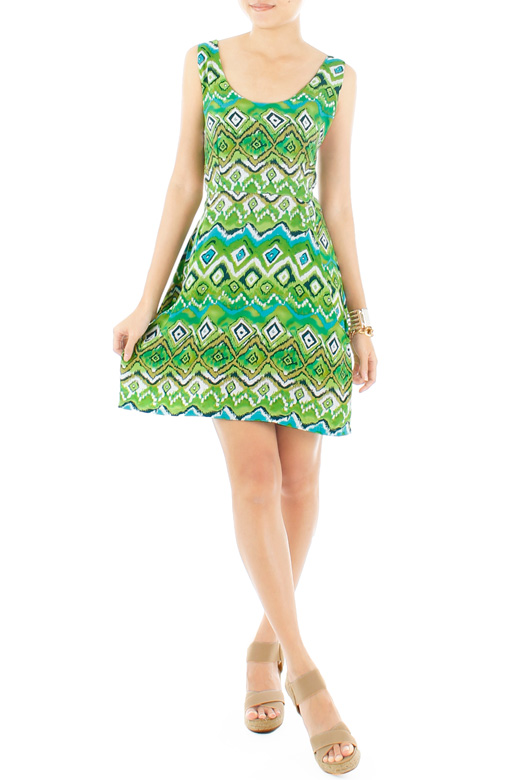 Tribeca Flare Dress