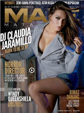 male magazine 157 - claudia jaramillo