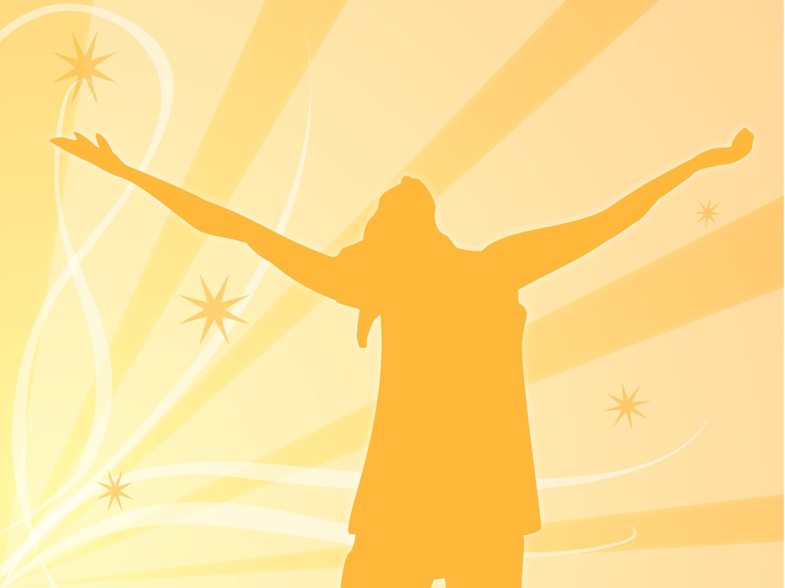 Similiar People Praising God Silhouette Clip Art Keywords