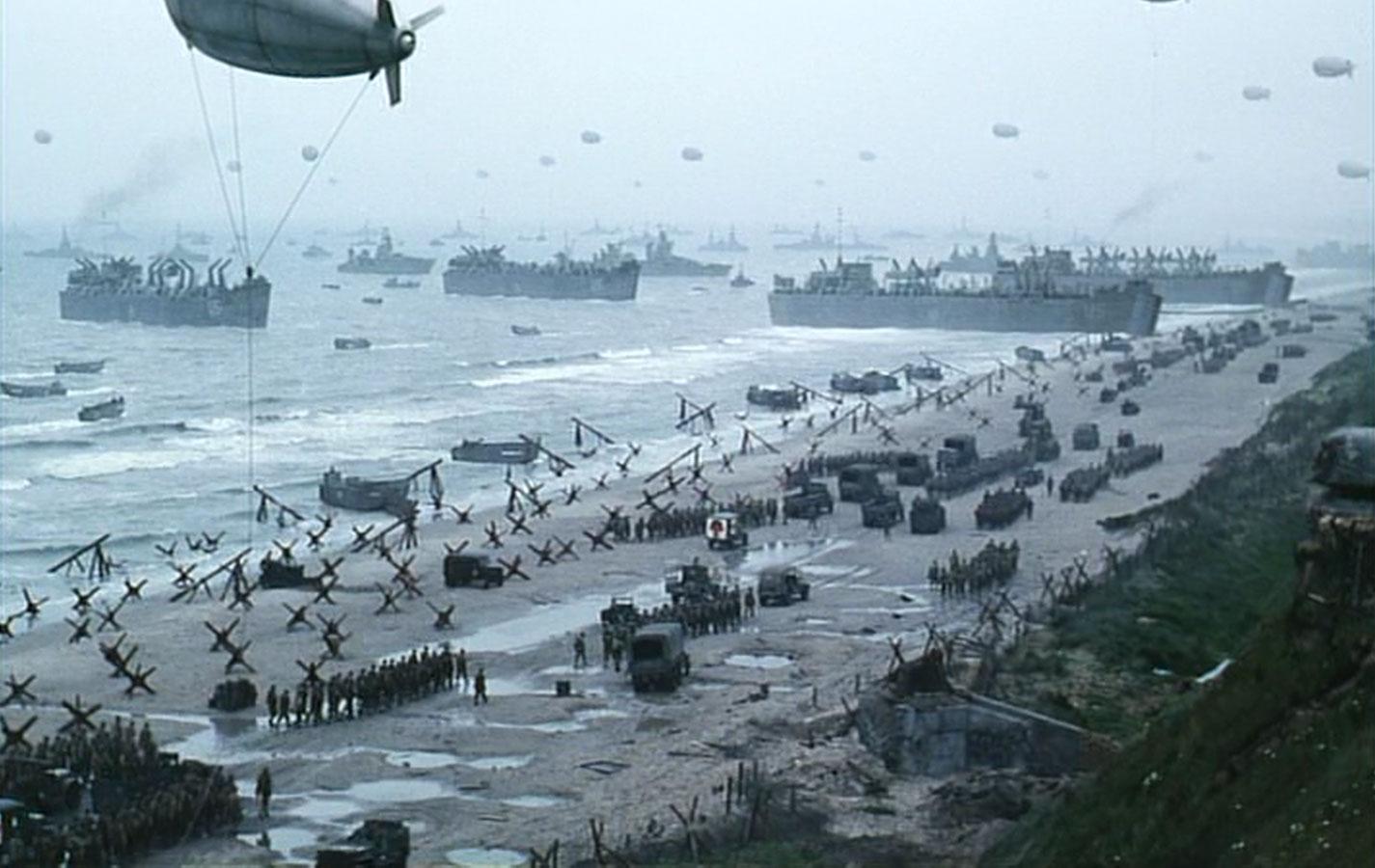 D Day Invasion Saving Private Ryan Second Reel: Rememberi...