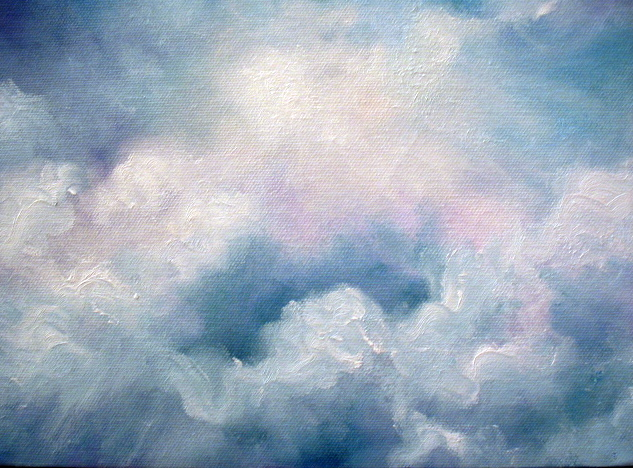 In daily painting clouds quot skyscape oil painting quot by marina petro