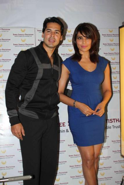 Bipasha Basu At Her Dino Moria's Fitness Brand Launch