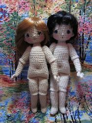 DOLL FINGER PUPPET Crochet Pattern - Free Crochet Pattern