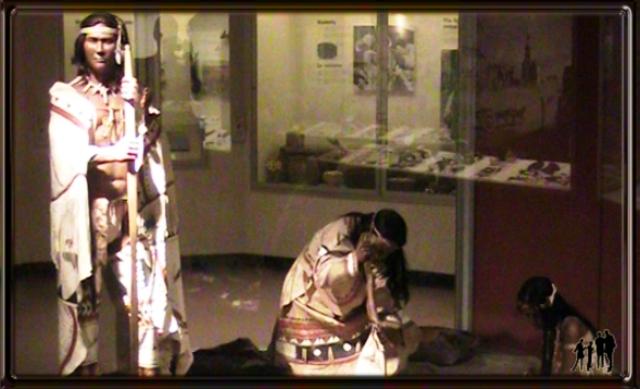 Collection indiens Micmac muséum d'Histoire Naturelle d'Halifax