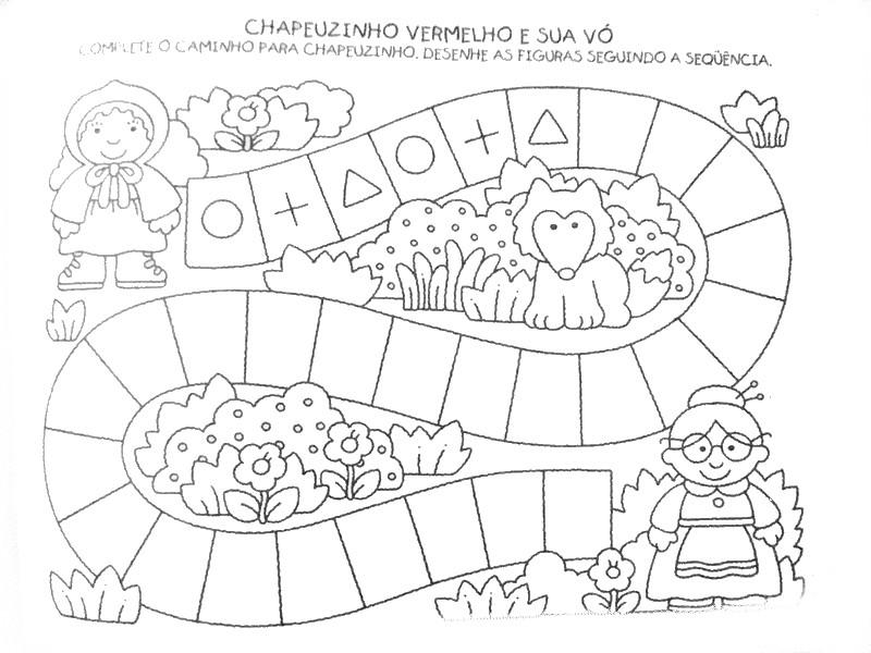 Correspondências - sequências e outras actividades 2 ALFABETIZACAO+INFANTIL+DESENHOS+E+ATIVIDADES+961