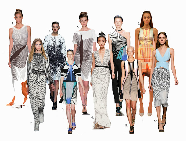 Linear fashion trend, structured lines, creed, carolina herrera, SS14, Spring/Summer 2014, fashion trends SS14, Marc Jacobs, Ohne Titel