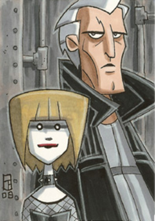 Roy and Pris por OtisFrampton