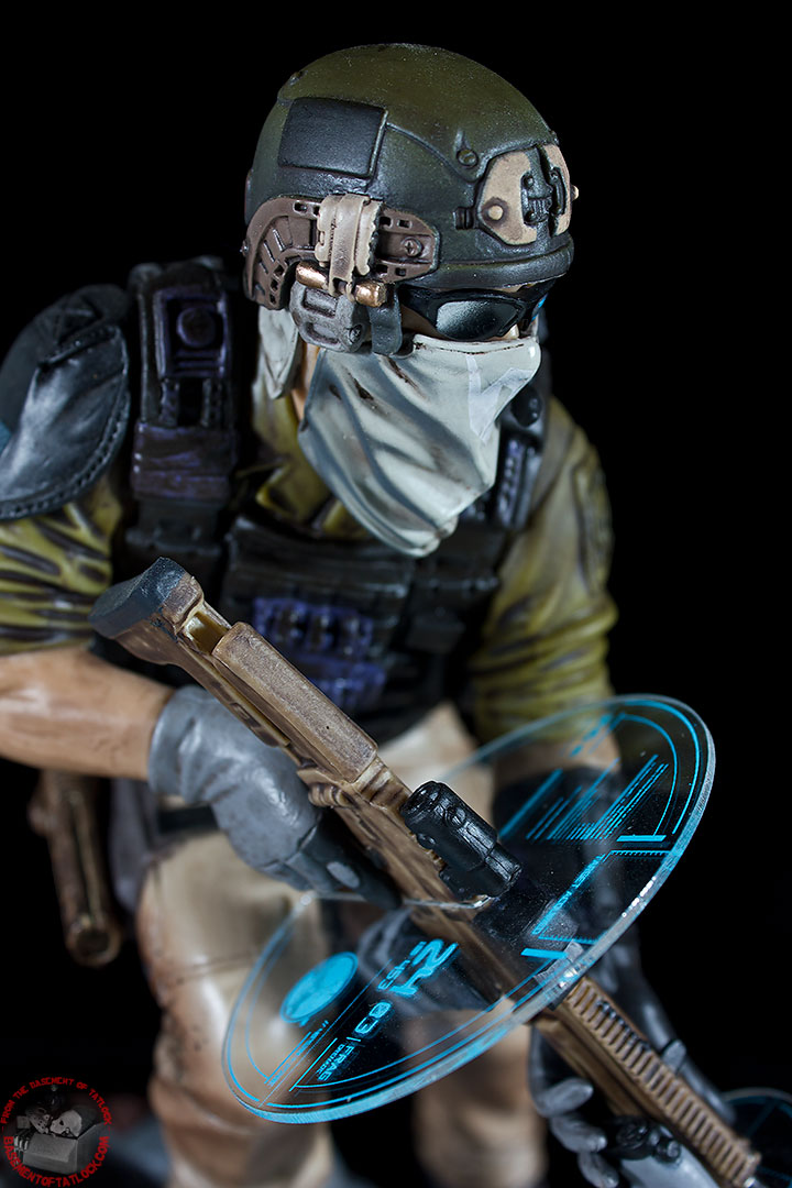 Ghost Recon Future Soldier Statue ACTION FIGURES AND COLLECTIBLES FROM THE BASEMENT OF TATLOCK