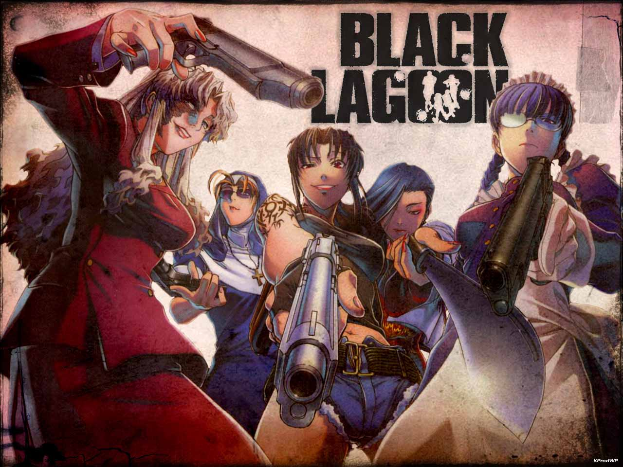 hq wallpapers: black lagoon wallpapers