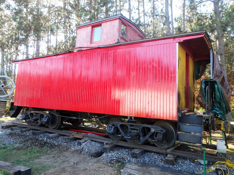 Barron County Museum Caboose Project