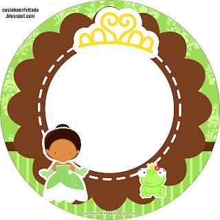 Kit Festa Princesa Tiana Para Imprimir Grátis