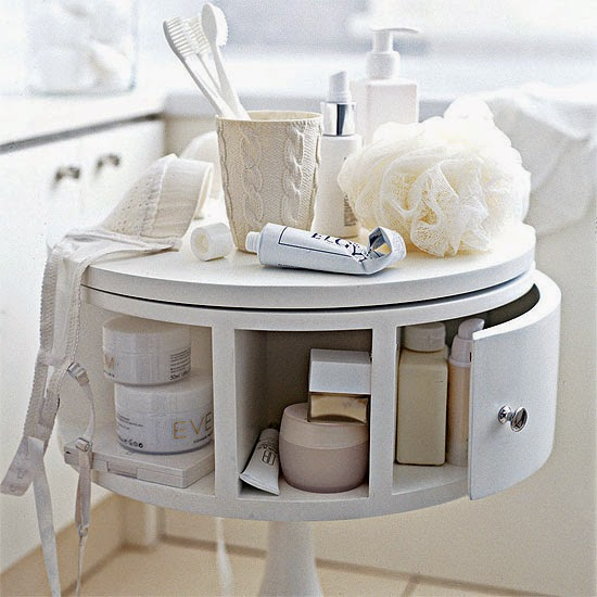 Multifunctional interior design ideas for small apartment - Rangement salle de bain ikea ...