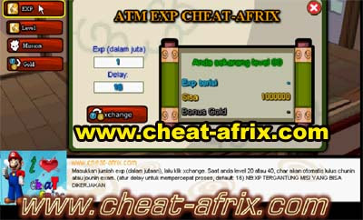 Cheat ATM Exp Ninja Saga Level 1-80 Update 2013