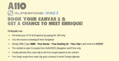 Micromax A110 Superfone Canvas 2 Smartphone