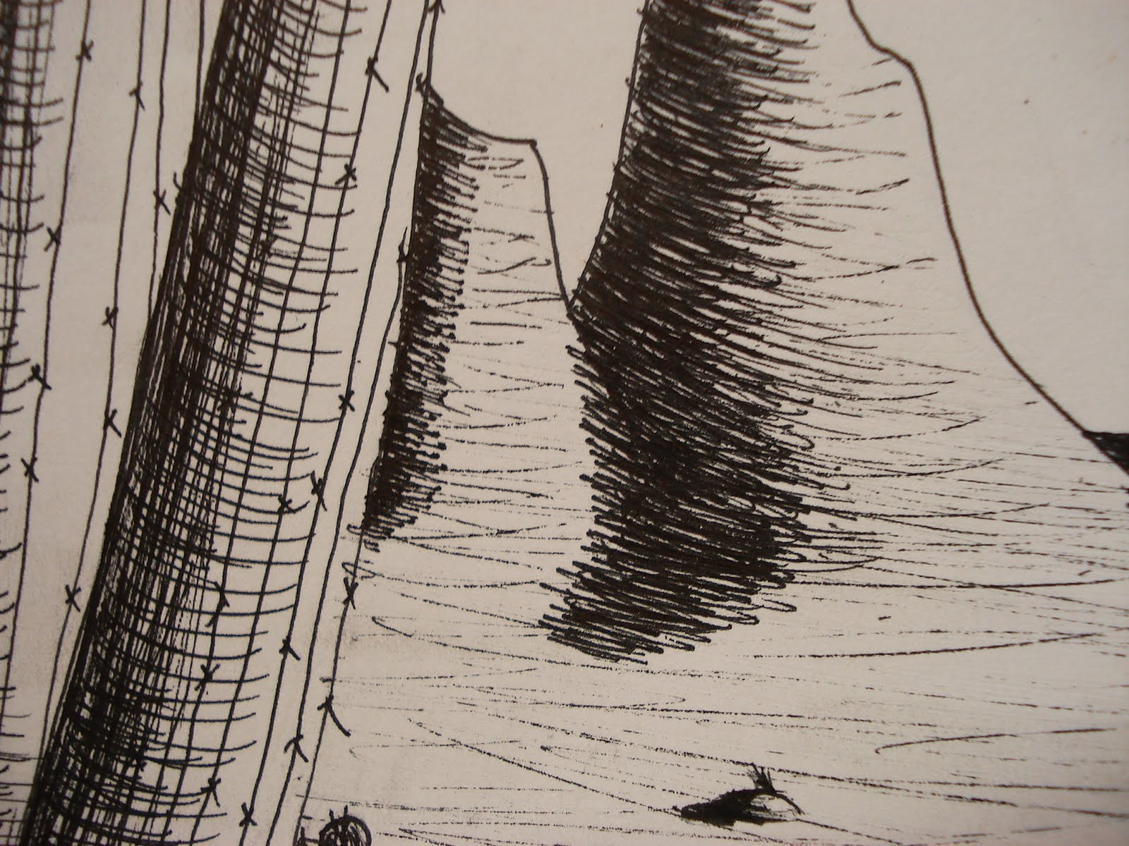 A Faithful Attempt Southwestern Pen Amp Ink Landscape Drawing