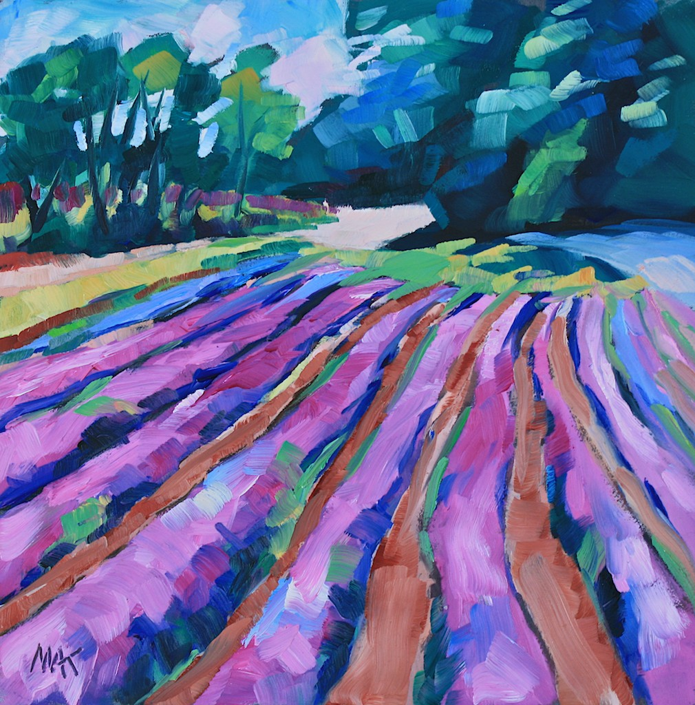I Feel Like Paint Many Of My Bright Colorful Flower Paintings In The Middle Cold And Snowy Winter