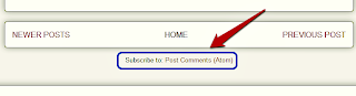 How To Remove Subscribe To: Posts Atom Link