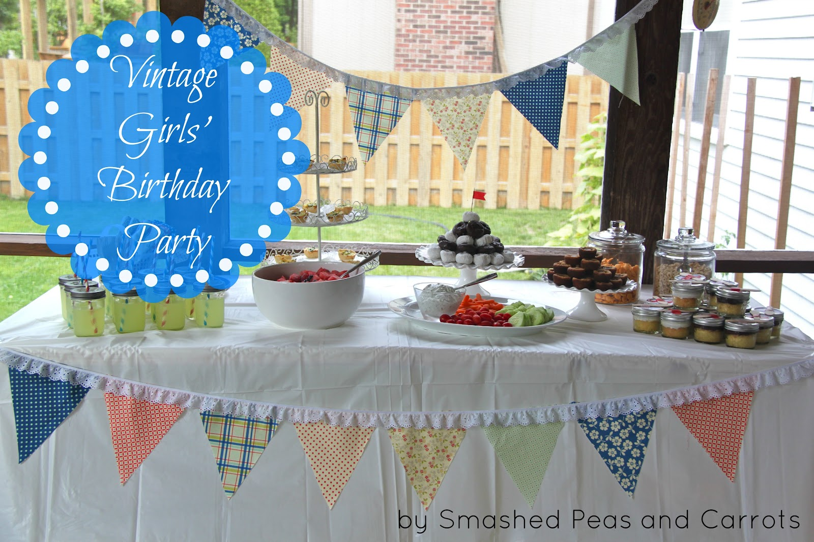 Vintage Girls Birthday Party