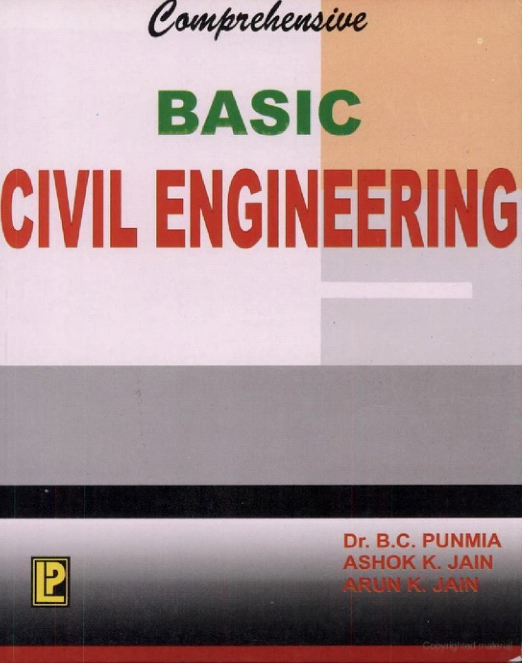Basic civil engineering by punmia engineering ebooks basic civil engineering by punmia fandeluxe Choice Image