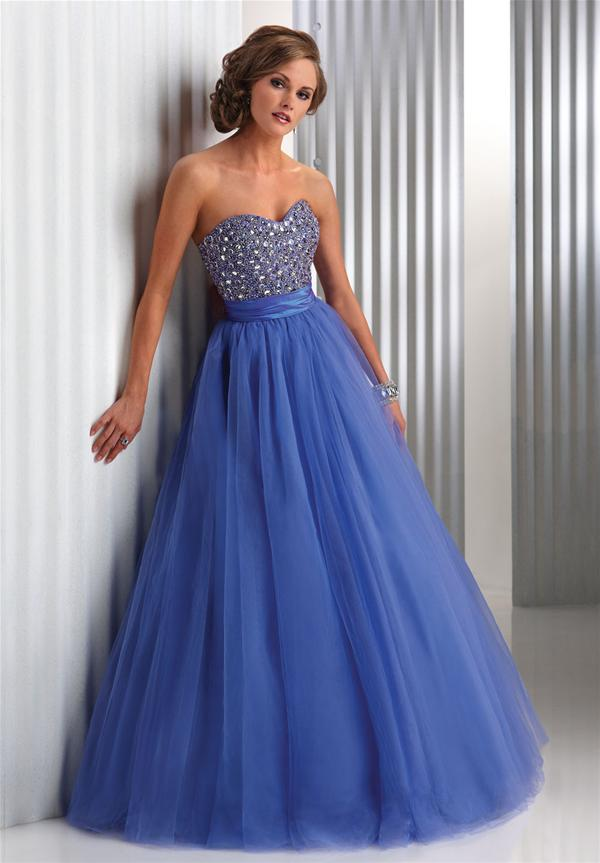 Sexy blue prom party gowns elegant prom dresses 2012