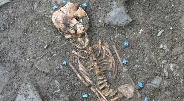 Tengkorak Manusia Abad ke-17 Ditemukan