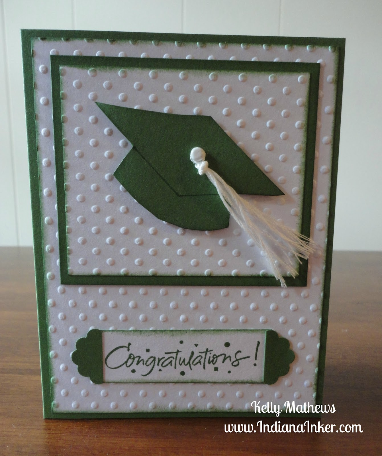 Indiana Inker Graduation Card