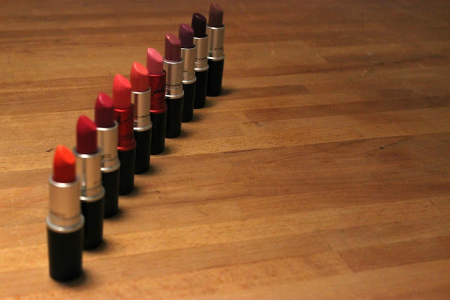 Picture of My MAC Lipstick Collection
