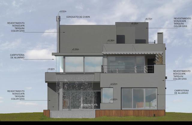 Backyard elevation